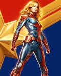 New Captain Marvel CCXP Brazil Poster