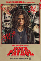 DCUs Doom Patrol Crazy Jane Poster by Artlover67