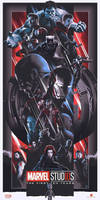 Marvel Cinematic Universe 10 Yrs Heroes Poster