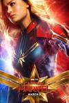 Brie Larson as Carol Danvers Captain Marvel Poster