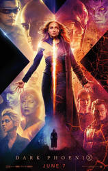Official New X-Men: Dark Phoenix Poster