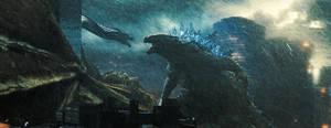 Godzilla vs. King Ghidorah Still by Artlover67