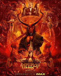 New Hellboy (2019) IMAX Poster by Artlover67
