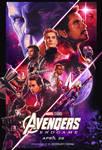 New Avengers: Endgame Dolby Cinema Poster