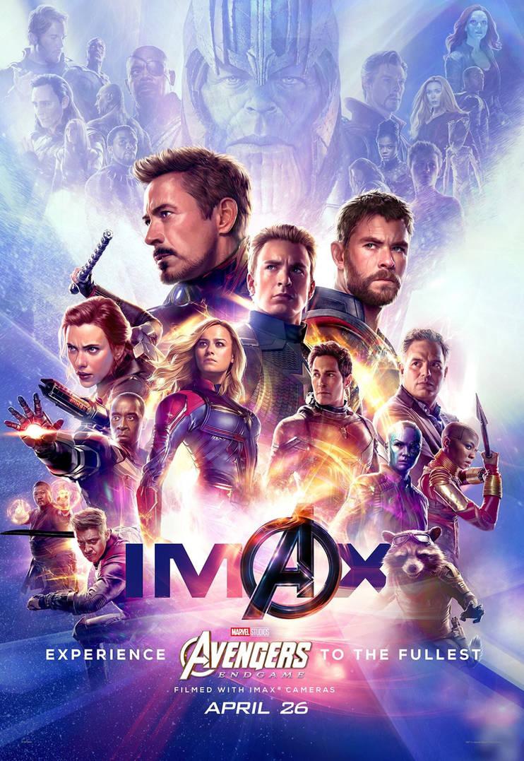 New Avengers: Endgame IMAX Poster by Artlover67 on DeviantArt