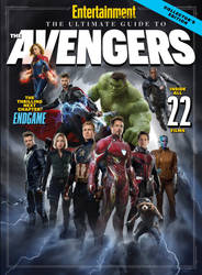 EWs Ultimate Guide to the Avengers Cover by Artlover67