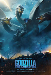 New Godzilla: King of the Monsters Poster
