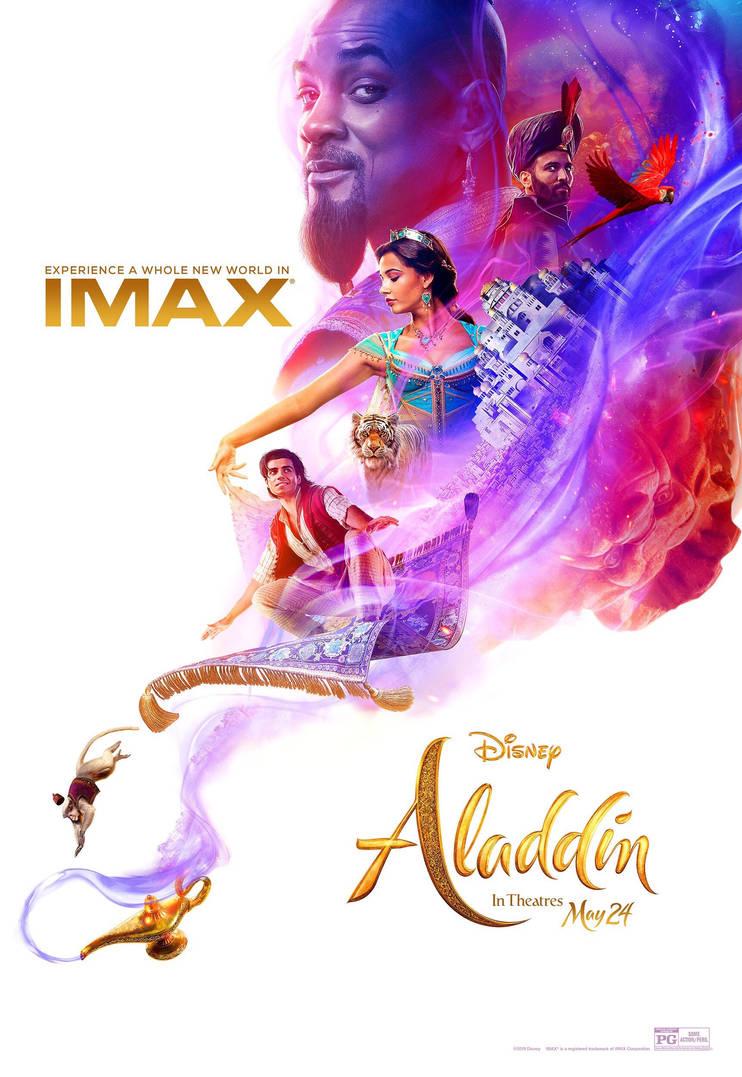 New aladdin 2019 imax poster by artlover67 on deviantart - Aladdin 2019 poster ...