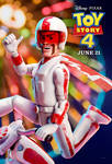 Toy Story 4 Duke Caboom Poster