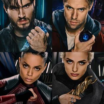 Krypton S2 Heroes Seg Adam Lyta and Vex by Artlover67