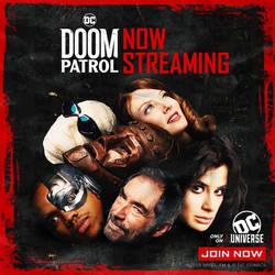 Doom Patrol Season Finale Poster by Artlover67