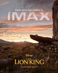 New Lion King (2019) IMAX Poster  by Artlover67