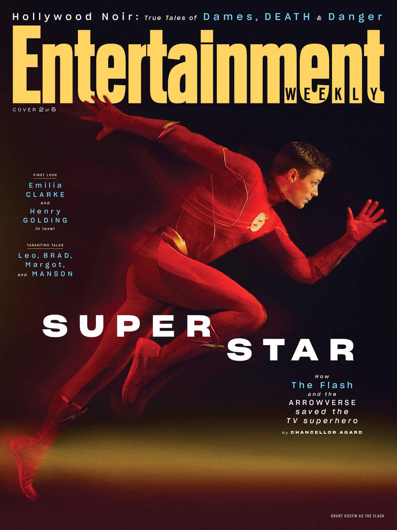 The Flash Season 6 Entertainment Weekly Cover by Artlover67 on