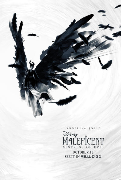 New Maleficent Mistress Of Evil Reald 3d Poster By