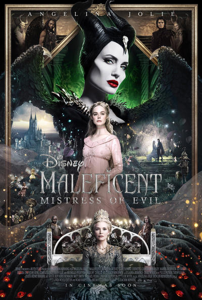 New Maleficent Mistress Of Evil Cinema Poster By Artlover67
