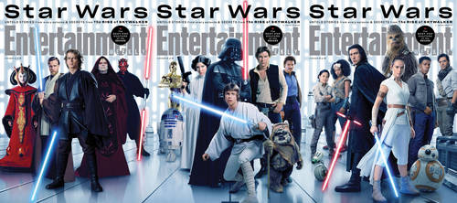 Star Wars Prequel Original and Sequel Trilogy EW