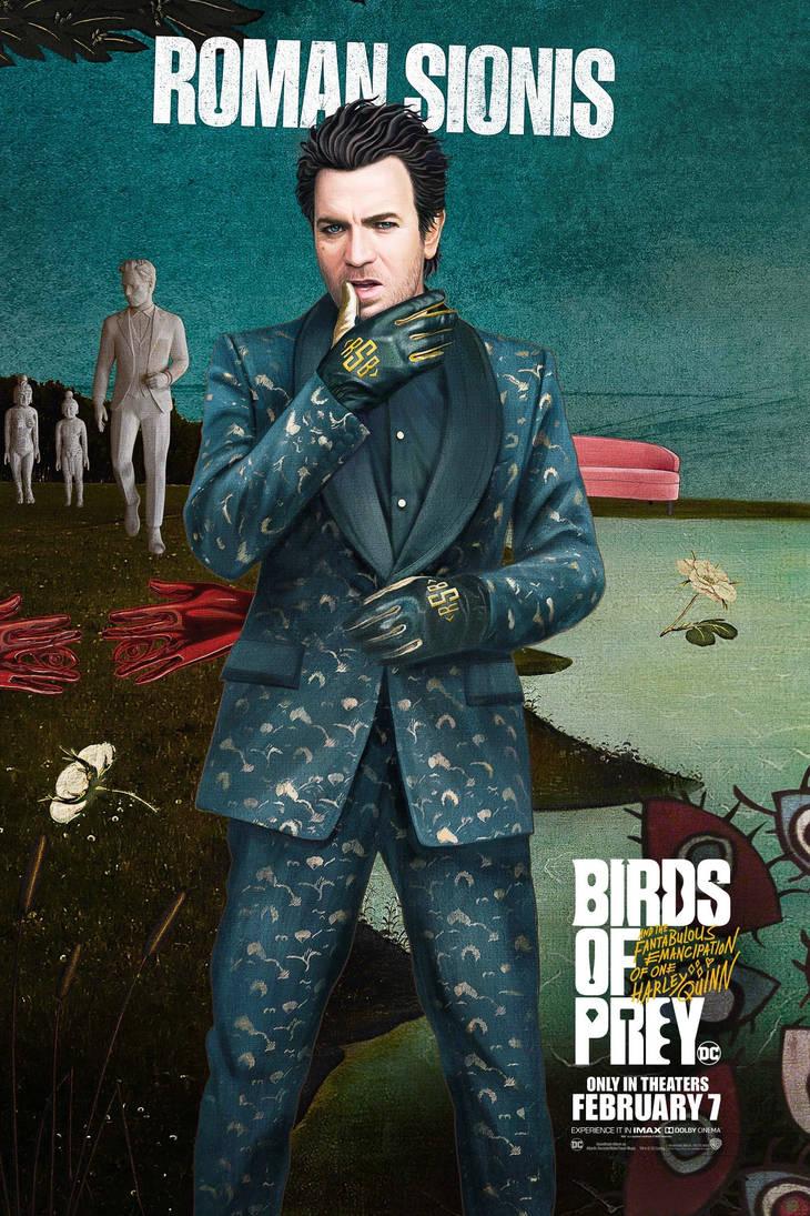 Birds Of Prey Roman Aka Black Mask Poster By Artlover67 On Deviantart