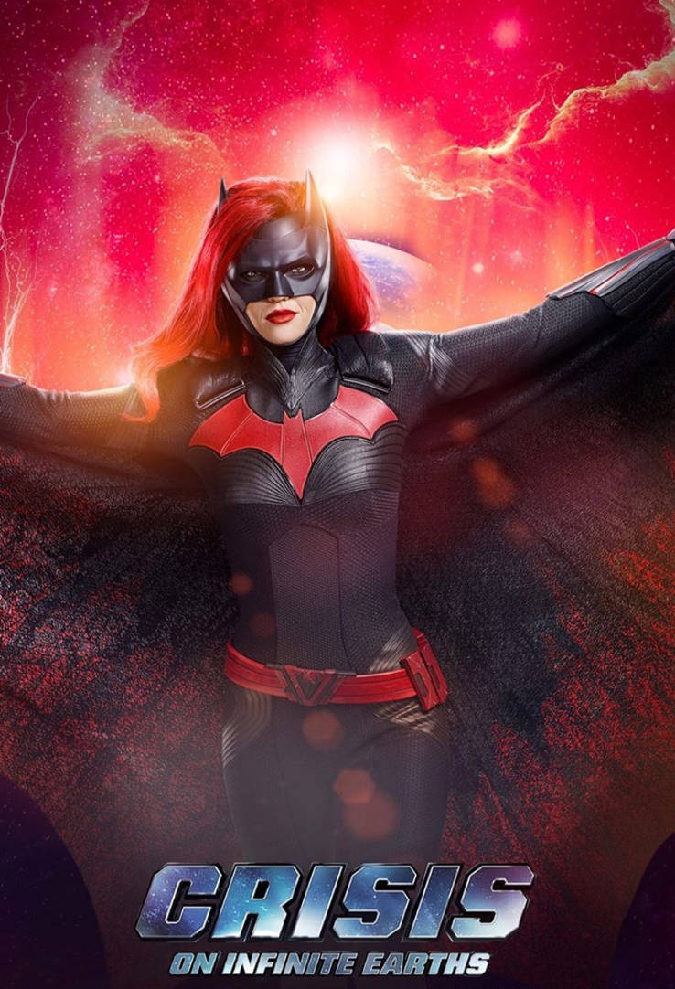 Crisis On Infinite Earths Batwoman Poster By Artlover67 On