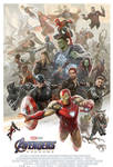 New Avengers: Endgame Limited Edition Poster