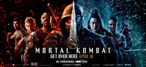 New Mortal Kombat (2021) Banner Poster