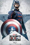 Falcon and Winter Soldier US Agent Poster