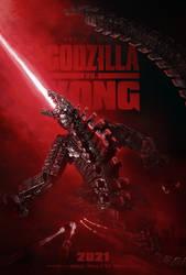 Godzilla vs. Kong MechaGodzilla Poster