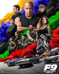 New Official F9: The Fast Saga Poster