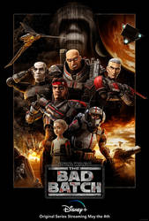 New Star Wars: The Bad Batch Poster