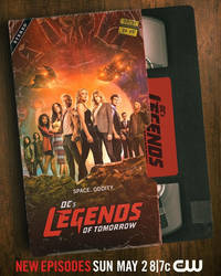 First Official Legends of Tomorrow Season 6 Poster