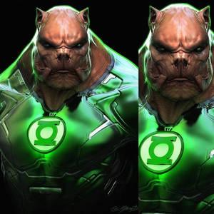 Zack Snyders Justice League Kilowog Concept Art
