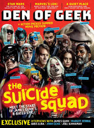 The Suicide Squad Den of Geek Magazine Cover