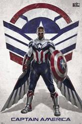 Sam Wilson Captain America Promo Art