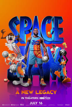 Space Jam: A New Legacy Dolby Cinema Poster