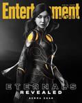 Marvels Eternals Gemma Chan as Sersi EW Cover