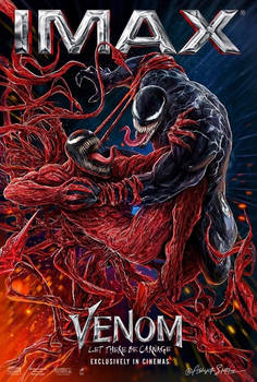 Venom: Let There Be Carnage IMAX Poster