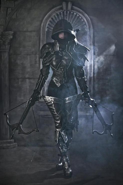 Ready for death by SpcatsTasha