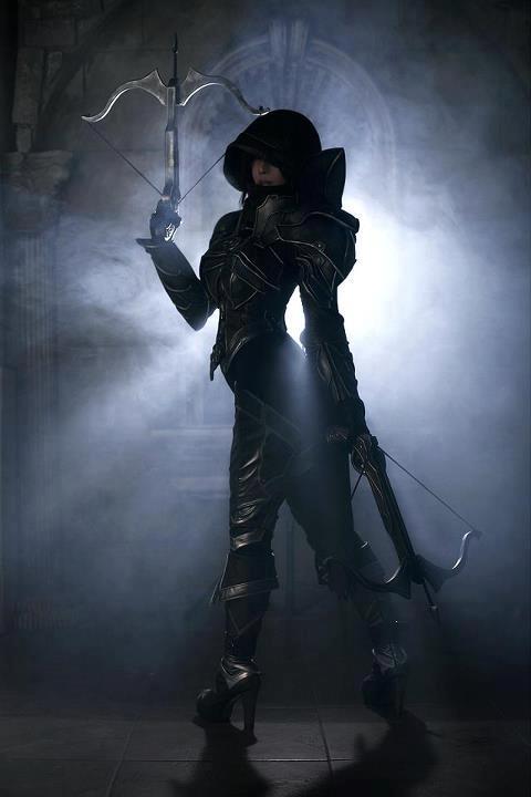 Demon Hunter Class by SpcatsTasha