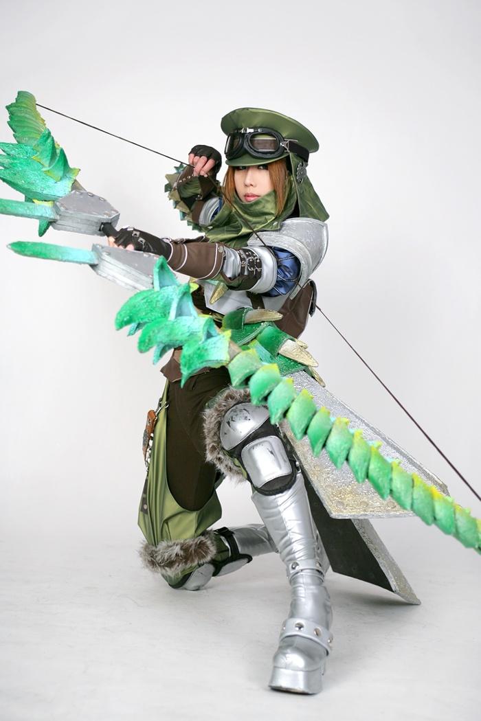 Queen Blaster cosplay by SpcatsTasha