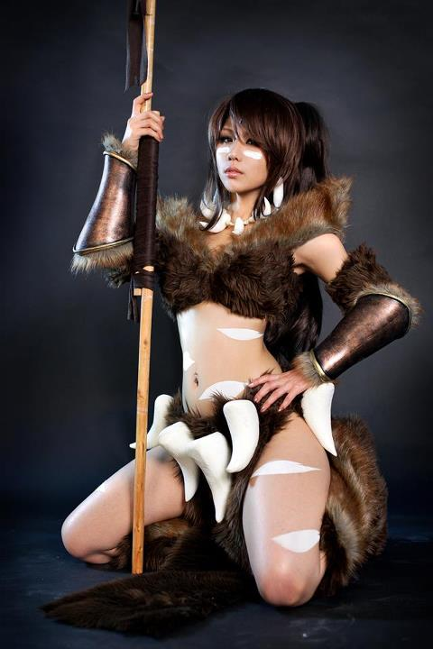 Nidalee cosplay by SpcatsTasha
