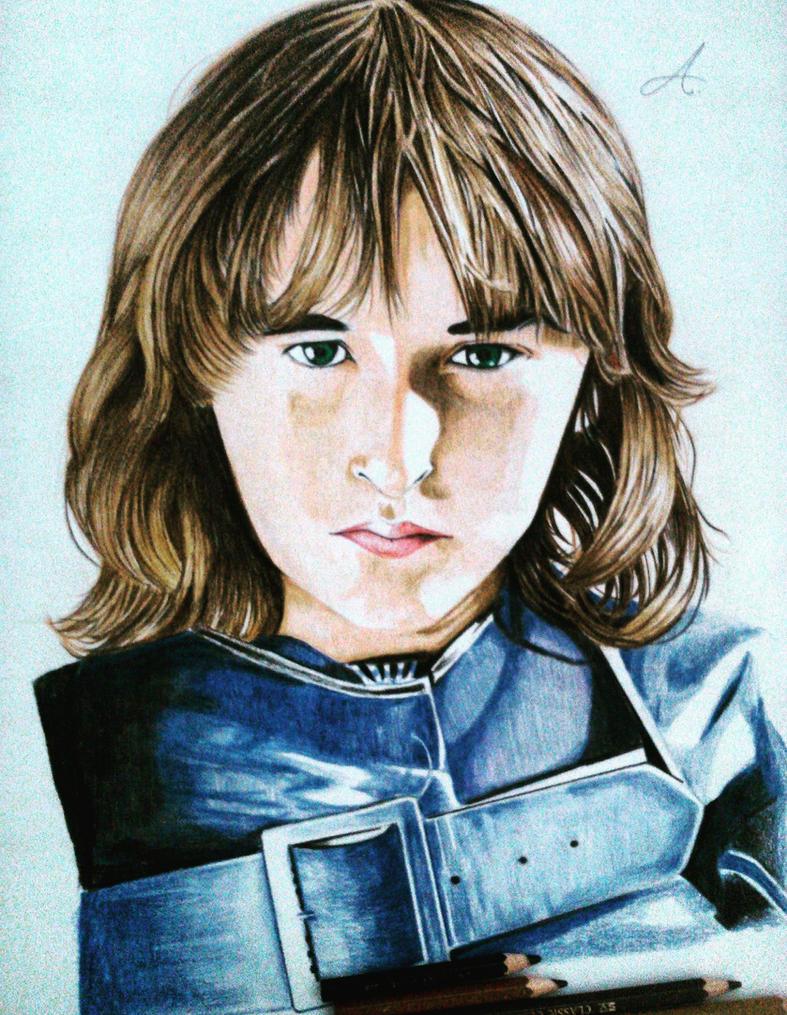 Branddon Stark (Game of Thrones) by aditparsial
