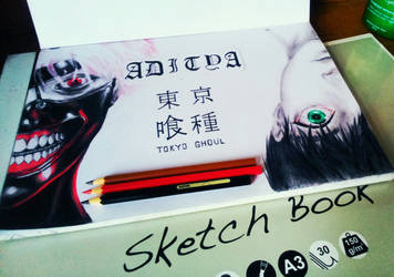 Kaneki Ken (Tokyo Ghoul) by aditparsial