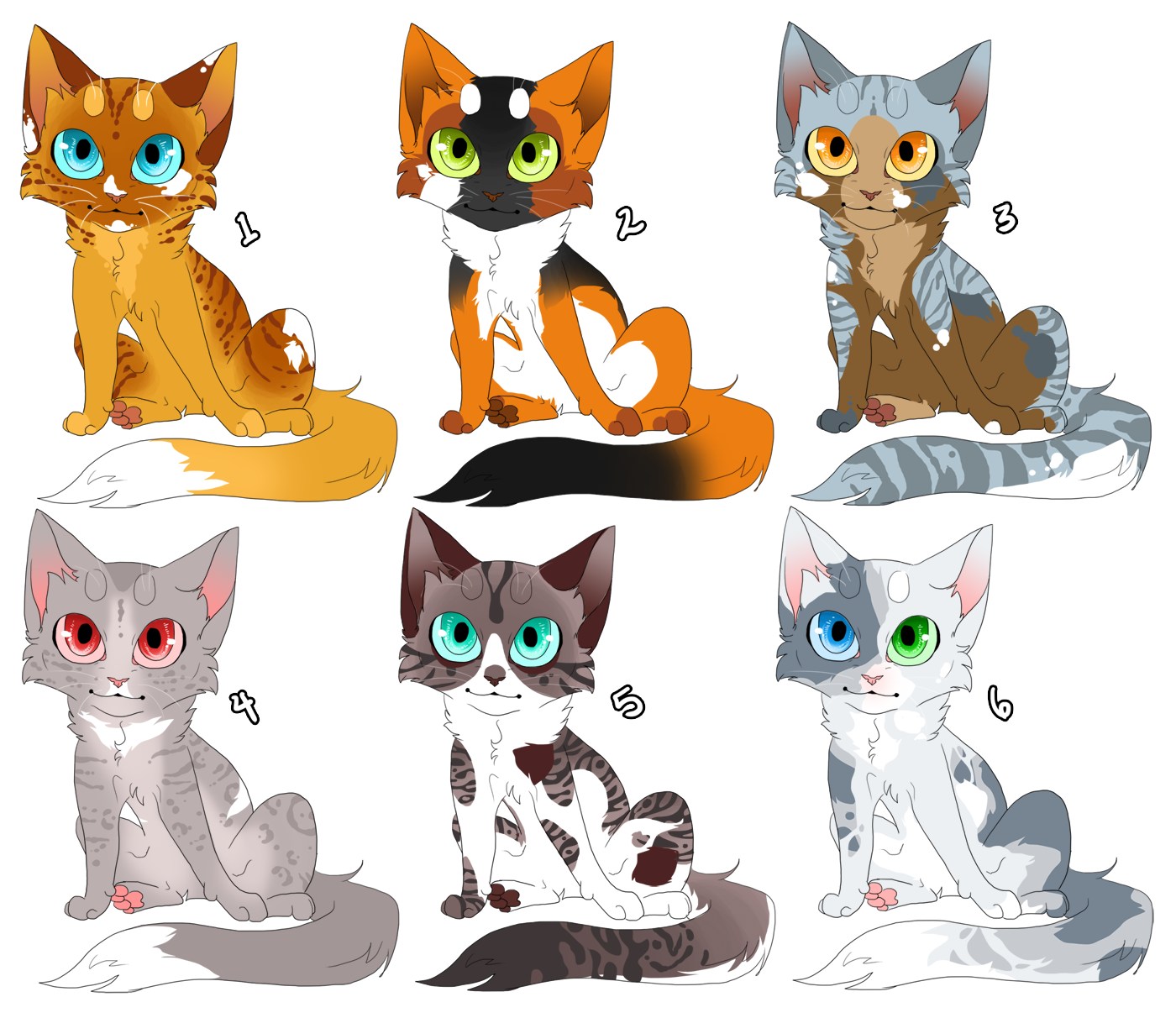 Cat Design Auction 1 CLOSED by KellzFire