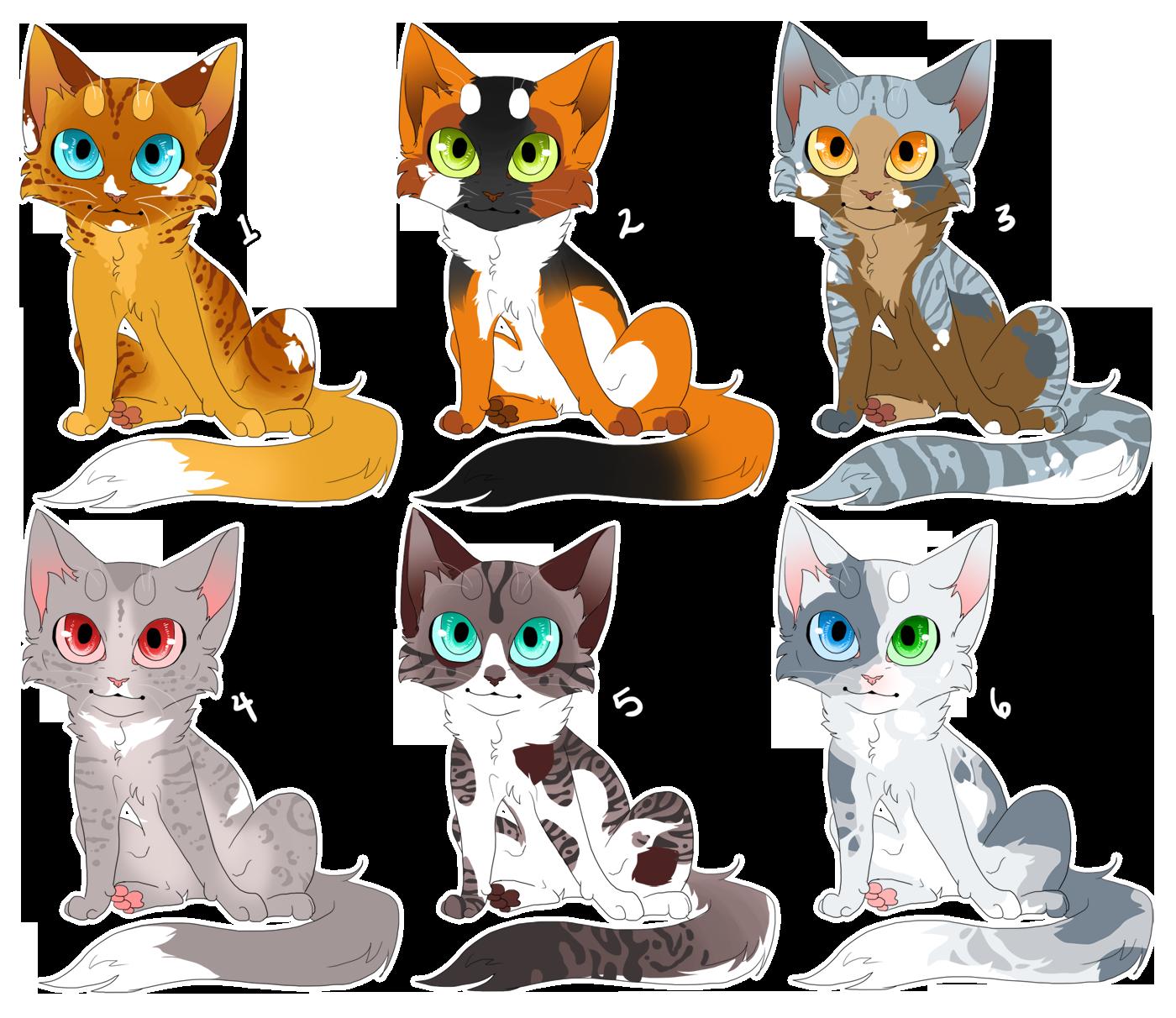 Cat Design Auction 1 CLOSED by KellzFire