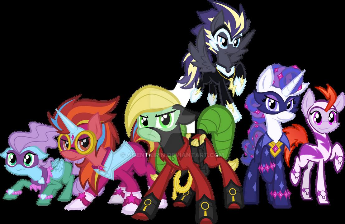 power ponies by agentkirin on deviantart