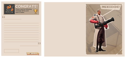 Team Fortress Card