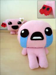 Isaac and Bandage Girl by Feena-chan