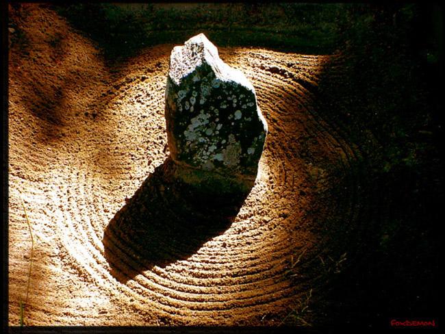 Zen rocks by FoxDemon