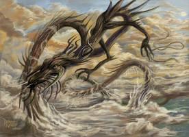Stratoscious the Uni Dragon by zakariah
