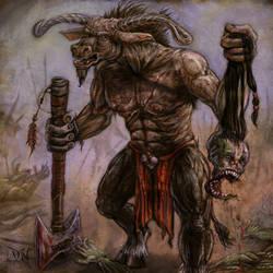 Minotaur Veteran by zakariah
