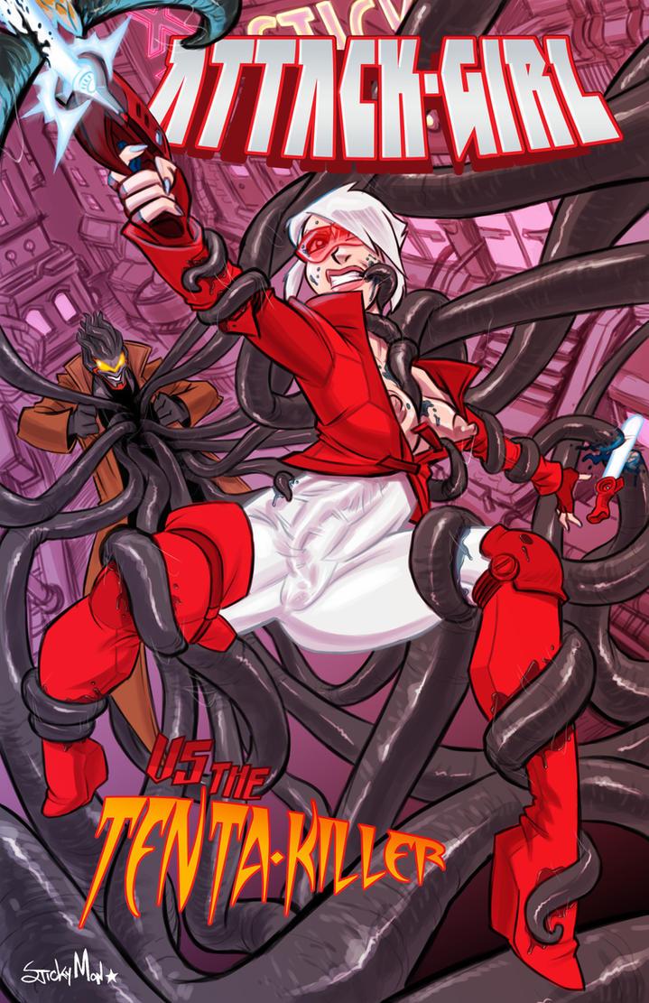 Attack-Girl vs Tenta-Killer by StickyMon